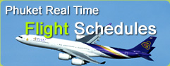Phuket Real Time Flight Schedules