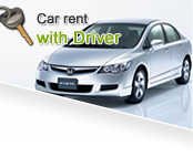 Car rent with Driver