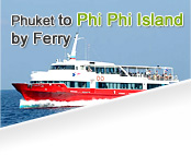Phuket to Phi Phi by Ferry